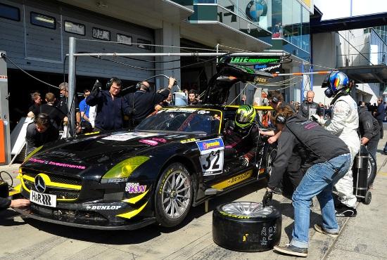 Horn Motorsport Mercedes-Benz SLS AMG GT3