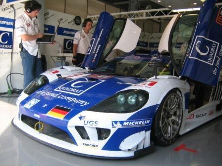Zakspeed und Michelin brillieren in der FIA GT