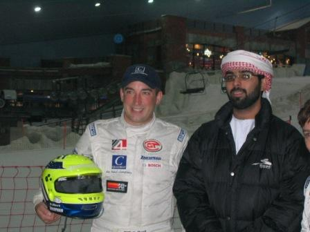 Sascha Bert in Dubai