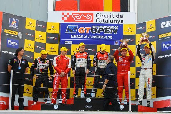 """Erfolgreicher Saisonabschluss in der """"GT-Open"""" in Barcelona"""