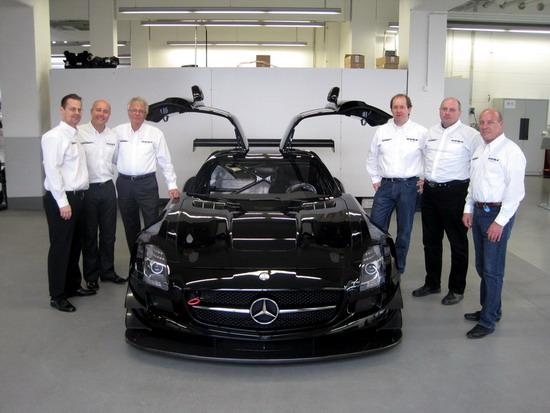 Sascha Bert startet im Mercedes SLS AMG GT3 mit Horn Motorsport