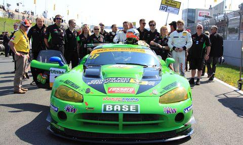 Das Team von Vulkan Racing / Mintgen Motorsport